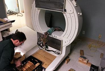 SPECT system installation